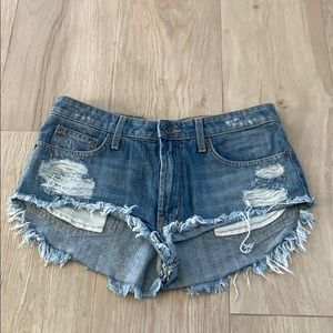 LF Carmar Denim Cut Off Shorts